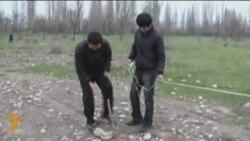 Zauzimanje zemljišta u Biškeku