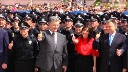 У Києві склали присягу перші 2 тисячі поліцейських