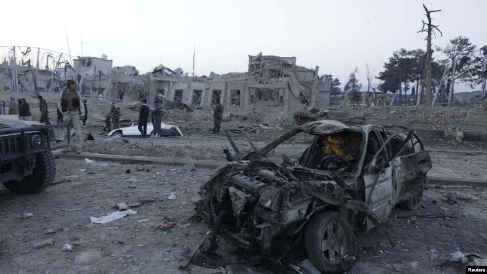 Witnesses said many of the injured were Afghans who were sleeping in their homes nearby.