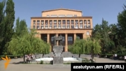 Armenia - The main building of the Yerevan State University, 9Oct2014.