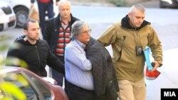 """Цветан Панделески, приведен во случајот на СЈО """"Империја"""" се носи пред судија на претходна постапка."""