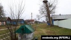 Калодзеж на вуліцы Гагарына