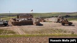 یک موضع نیروهای آمریکایی در سوریه (عکس از آرشیو)