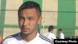 Казахский футболист из Голландии Мурат Онал.