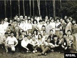 Беренче татар яшьләре көннәрендәге әдәби кичә. 1990 ел