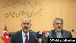 İran və Türkiyə milli kitabxanalarının direktorları. IBNA