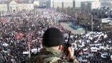 Руководство Чечни любит сгонять бюджетников на митинги против российской оппозиции