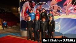 57 кг. салмакта байге ээлери. 6-февраль, 2015-ж. Бишкек.