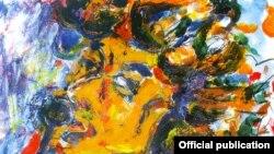 Дела на сликарот Владимир Величковски, инспирирани од Боб Дилан.