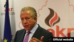 Zëvendëskryeministri i Kosovës Behxhet Pacolli