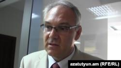Новоназначенный посол Германии в Армении Матиас Кисслер, 19 сентября 2015 г.