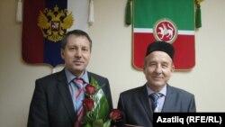 Альберт Максютов һәм Рәүф Хәсәнов (у)