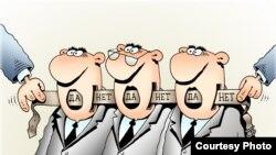 Карикатура Игоря Кийко