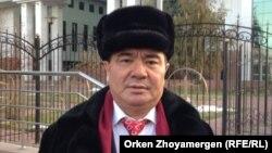 """""""Жас-Ай"""" медицина орталығының басшысы Жасан Зекейұлы. Астана, 2 қараша 2016 жыл."""