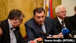 Milorad Dodik na skupu u Beogradu
