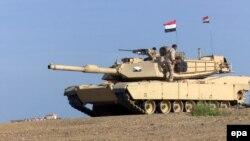 Ироқ армияси танкларидан бири.