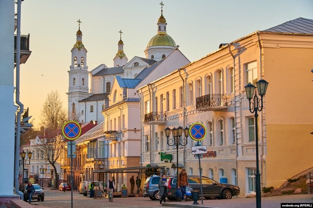 Пешаходная вуліца Талстога (Падзьвінская) ў Віцебску