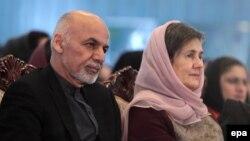 Ашраф Гани и его супруга Рула Гани. Архивное фото