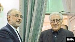علیاکبر صالحی و اخضر ابراهيمی