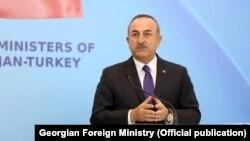 مولود چاووش اغلو وزیر خارجه ترکیه