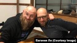 Сергей Бурлаков и Александр Мещанкин