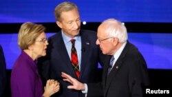 Напрежението между Уорън и Сандърс след края на дебата