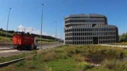Мусоросжигательный завод в Швейцарии