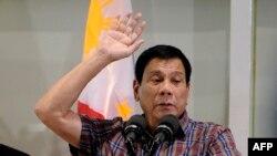флипински претседател Родриго Дутерте