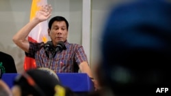 Филиппин президенті Родриго Дутерте.