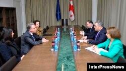 Букиккио и председатель грузинского парламента договорились о введении специальной должности – офицера по связям