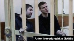 Александр Кокорин и его друг Александр Протасовицкий