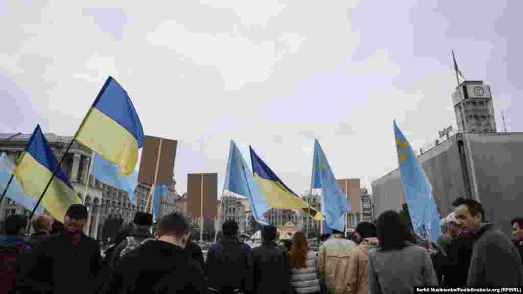 Акцию крымских татар поддержали в нескольких странах мира: в Латвии, Казахстане и Финляндии
