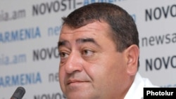 Ջրափրկարարական հատուկ ջոկատի հրամանատար Սամվել Մկրտչյանը: