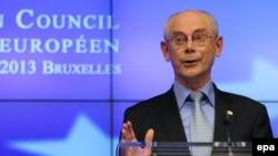 Presidenti i Këshillit të Bashkimit Evropian, Herman Van Rompuy.