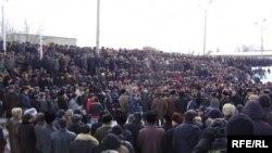 Нарындагы нааразылык акциясы, 10-март, 2010-жыл