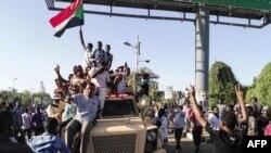 Судан -- Хартум, дуьхьалонан акцийн декъашхой. Оханан-бутт 7, 2019