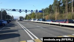 The new decree allows citizens of EU states to cross the border into Belarus without a visa (file photo).