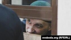 Аляксей Сінькевіч у судзе. 26 ліпеня 2019 году