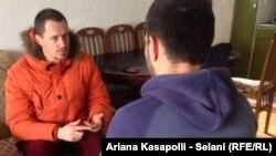 Ljeutrim Daljipi u razgovoru sa novinarom RSE