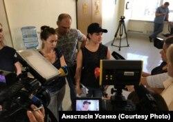 Ольга та Ірина Ебралідзе, доньки загиблої жінки в ДТП, 12 серпня 2019 року