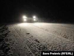 Snijeg u Crnoj Gori