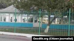 Здание РОВД в Шахрисабзском районе Кашкадарьинской области.