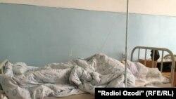Мафтуна Мурзаева в больничной палате.