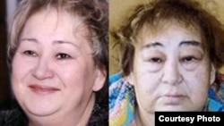 Вера Трифонова - до и после ареста.