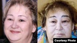 Vera Trifonova, before and after her arrest last year