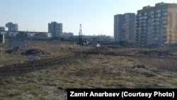 Место, где намерены возвести жилой массив «Крымская роза», Симферополь