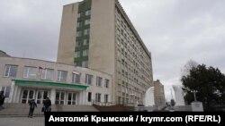 Aqmescitte Qırım müendis ve pedagogika universiteti, arhiv fotosı