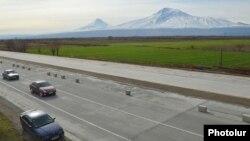 Участок автомагистрали «Север-Юг»