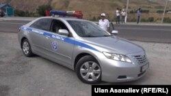 Машина милиции в Бишкеке. Иллюстративное фото.
