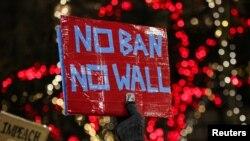 Protestat kundër urdhrit të Trumpit të 27 janarit